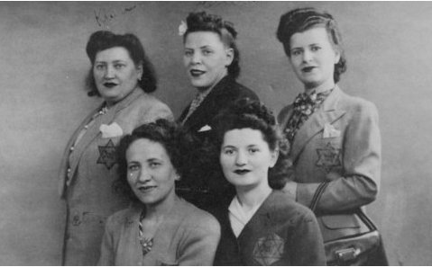Femmes juives portant l'étoile jaune, Paris, 8 juin 1942 - Photo : US Holocaust Memorial Museum