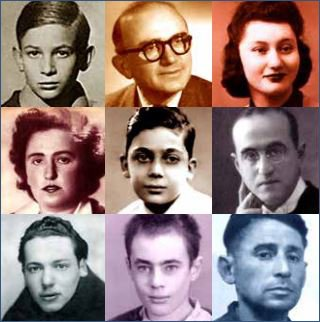 Visages d'auteurs de la collection Témoignages de la Shoah
