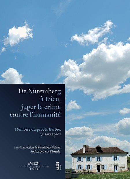 Cover sheet From Nuremberg to Izieu