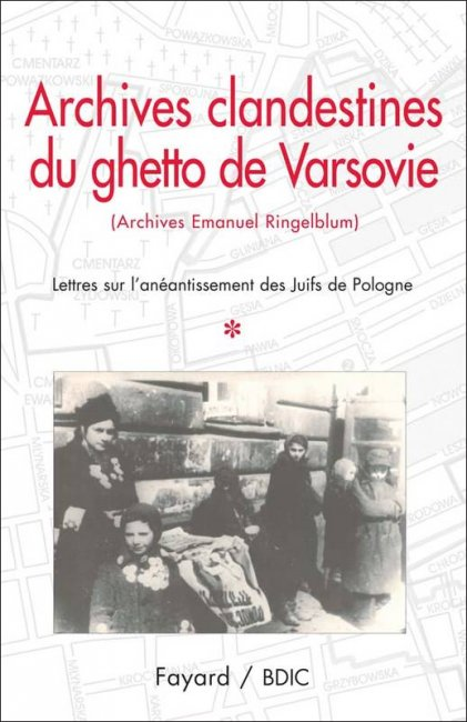 Archives clandestines du ghetto de Varsovie (Archives Emanuel Ringelblum)